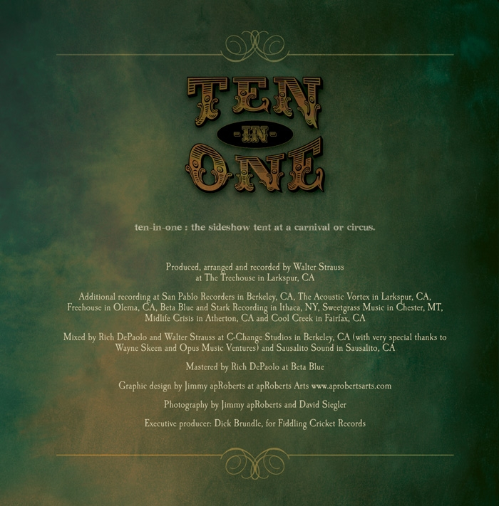 Stevie Coyle - TEN-IN-ONE - Credits Image