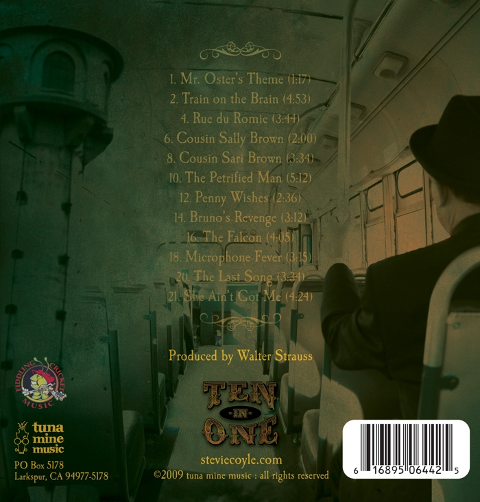 Stevie Coyle - TEN-IN-ONE - Tracklisting Image