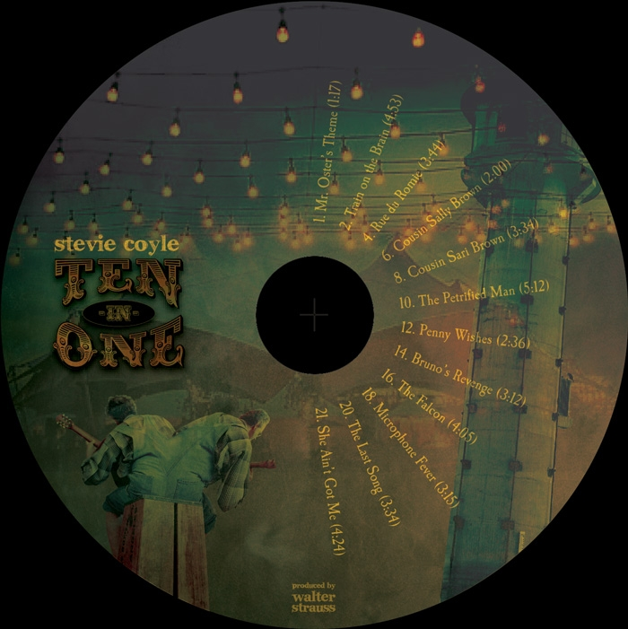 Stevie Coyle - TEN-IN-ONE - CD Image